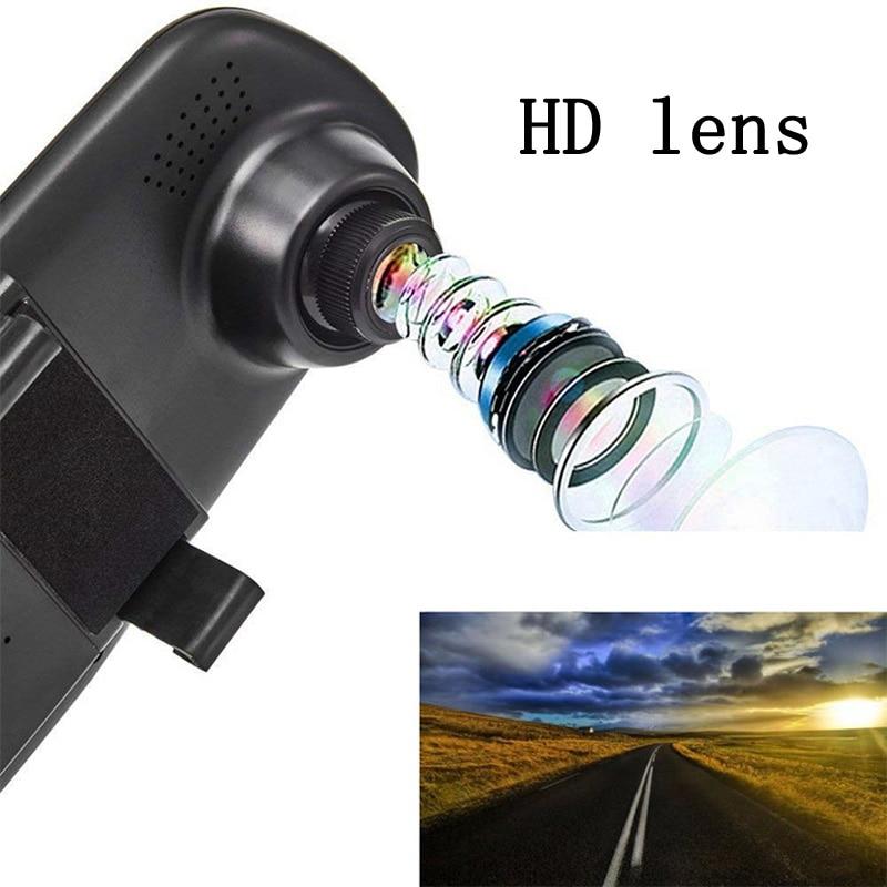 4 3 39 39 Dash Cam Car Rearview Dvr Mirror Full HD 1080P Car Dvr Camera Dual Lens Dash Camera Video Recorder DashCam Car Camera in DVR Dash Camera from Automobiles amp Motorcycles