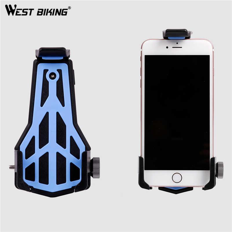 West biking руль для велосипеда 3,5-6,2 дюймов 360 градусов вращающийся сильный гибкий держатель для телефона для велосипеда безопасный велосипед подставка для велосипеда руль для велосипеда