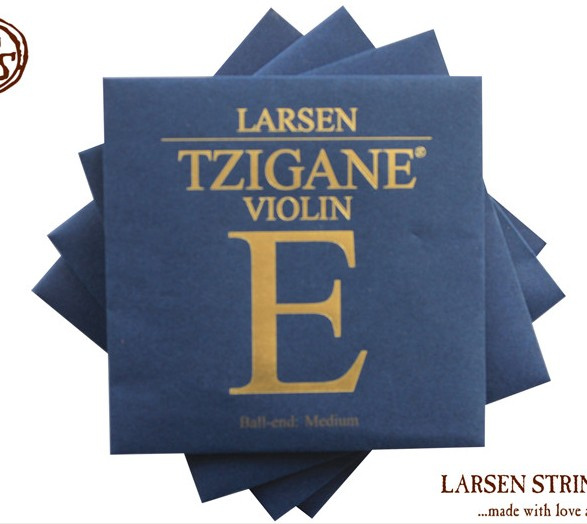 Free shipping Original TZIGANE LARSEN Violin strings set strings (include E,A,D,G) original thomastik vision solo vis100 4 4 violin strings full set med alum d made in austria free shipping