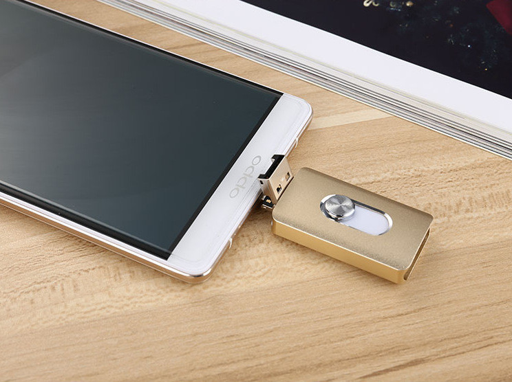 3 ב-1 הסלולר OTG USB פלאש כונן 8GB 64GB כונן עט Memoria מקל USB אחסון חיצוני עבור Iphone 7 6 פלוס,אנדרואיד,מחשב לוח