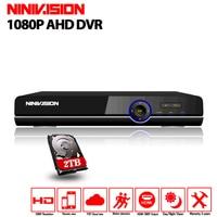 AHD DVR 16ch 1080P Home Surveillance 16 Channel AHD H Security CCTV DVR Video Recorder HDMI
