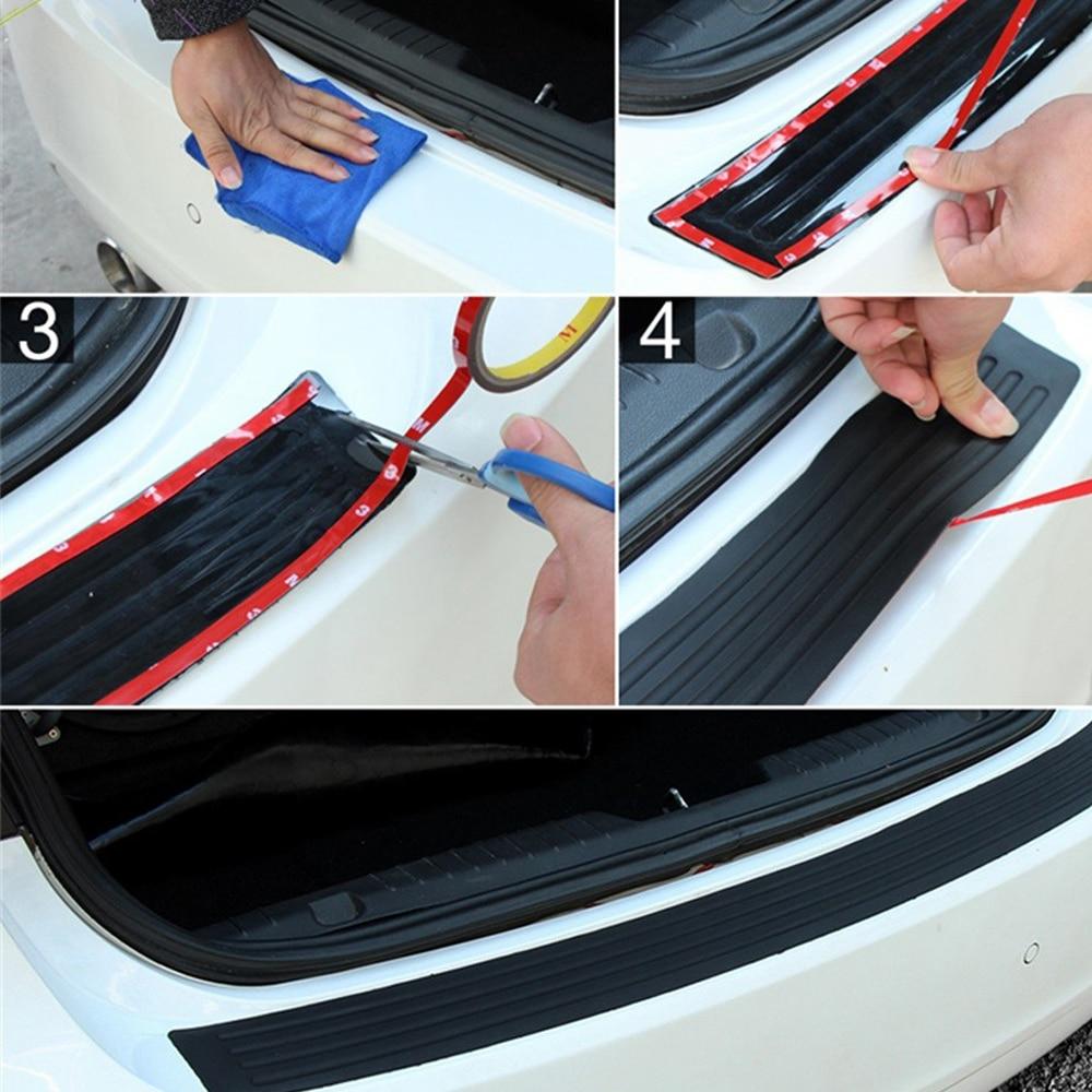 Резиновая полоса SUV анти-столкновения полосы заднего бампера полосы крышка отделка прочный протектор багажника