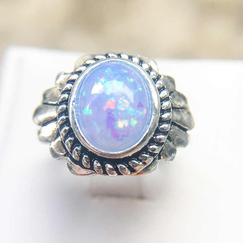 חמה למכירה טבעות נשים טבעות אופנה אופל כחול לבן ורוד טבעת גוף תכשיטי אביזרי חתונת תכשיטי אירוסין טבעת לאהבה