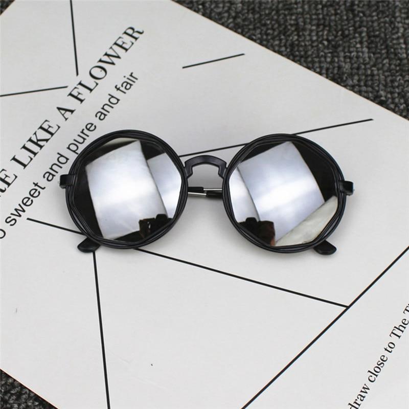 Bambini bimbi ragazzi ragazze Tonalità Occhiali da sole lenti luminose protezione UV400