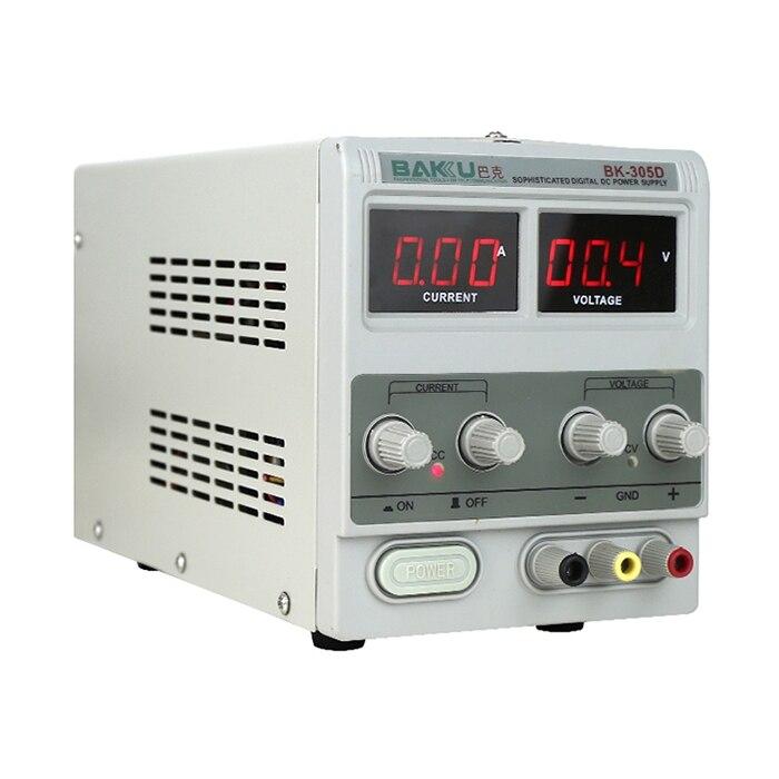 BK 305D 220 В переключением Функция переменной DC светодиодный непрерывный Питание ремонт Вольтметр Амперметр для мобильного телефона