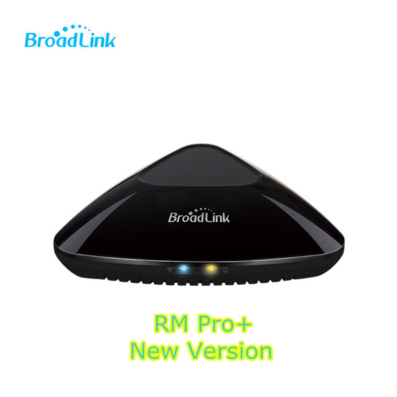 Broadlink RM Pro + Plus Compatible avec Amazon Alexa Echo Wifi RF IR Domotique Hub Universal Télécommande App Pour dispositif de la maison