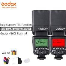Godox V860II-O Speedlite Камера Flash с B18 литий-ионный Батарея быстро 2,4 г Беспроводной ttl для Olympus Камера s