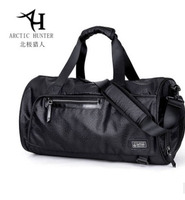 ARCTIC HUNTER Sports Gym Bag with Shoes Compartment Travel Big Capacity Shoulder Bag Men's Short Luggage Bag High Quality