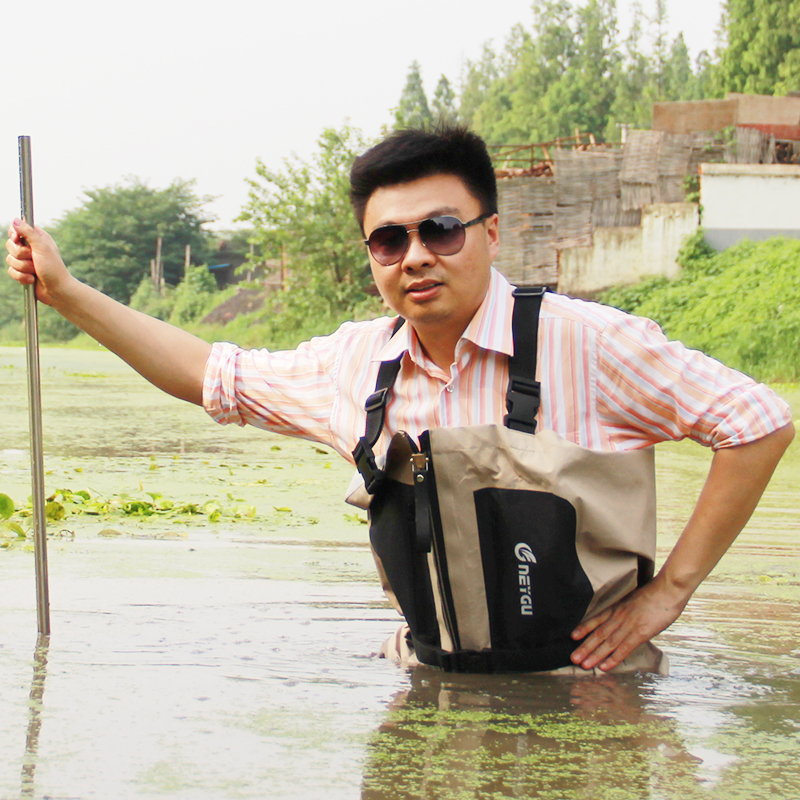 Buy stocking foot chest waders for men for Men s fishing waders