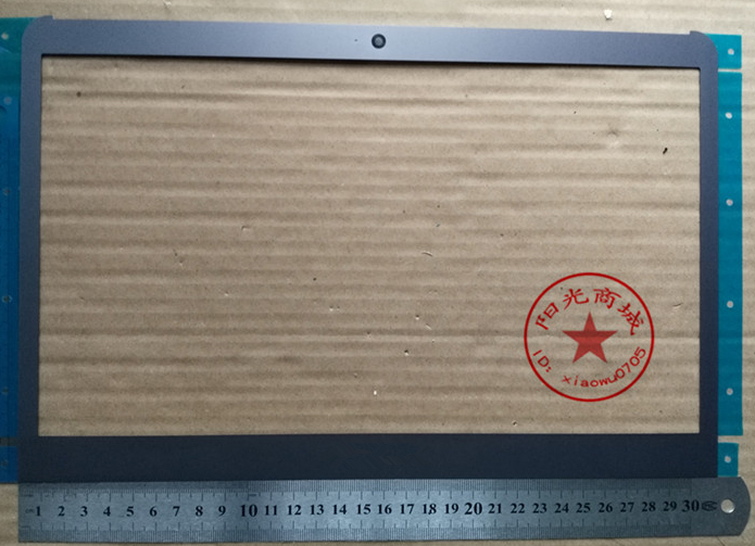 New laptop lcd painel frontal tampa quadro de tela para Samsung NP530U3C 530U3B NP535U3C 530U3C 532U3C 532U3X 535U3X NP530U3B