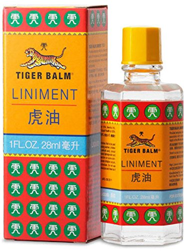 2pcs* Tiger Balm Liniment  28 ml,  Liquid Herbal Relief from Muscle and Joint Pain title=
