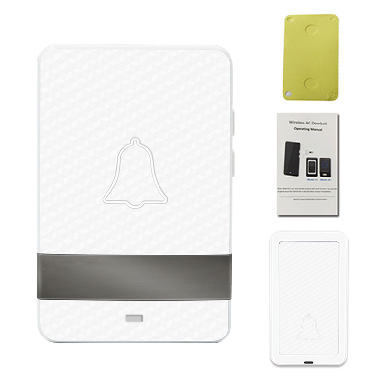 Wireless Long Distance Doorbell Welcome Chime