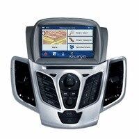 Quad Core Android 6.0 Samochodowy odtwarzacz DVD Nawigacja GPS W desce rozdzielczej Stereo Radio dla Ford Fiesta 2008 2009 2010 2012 2013 2014 2015 2016