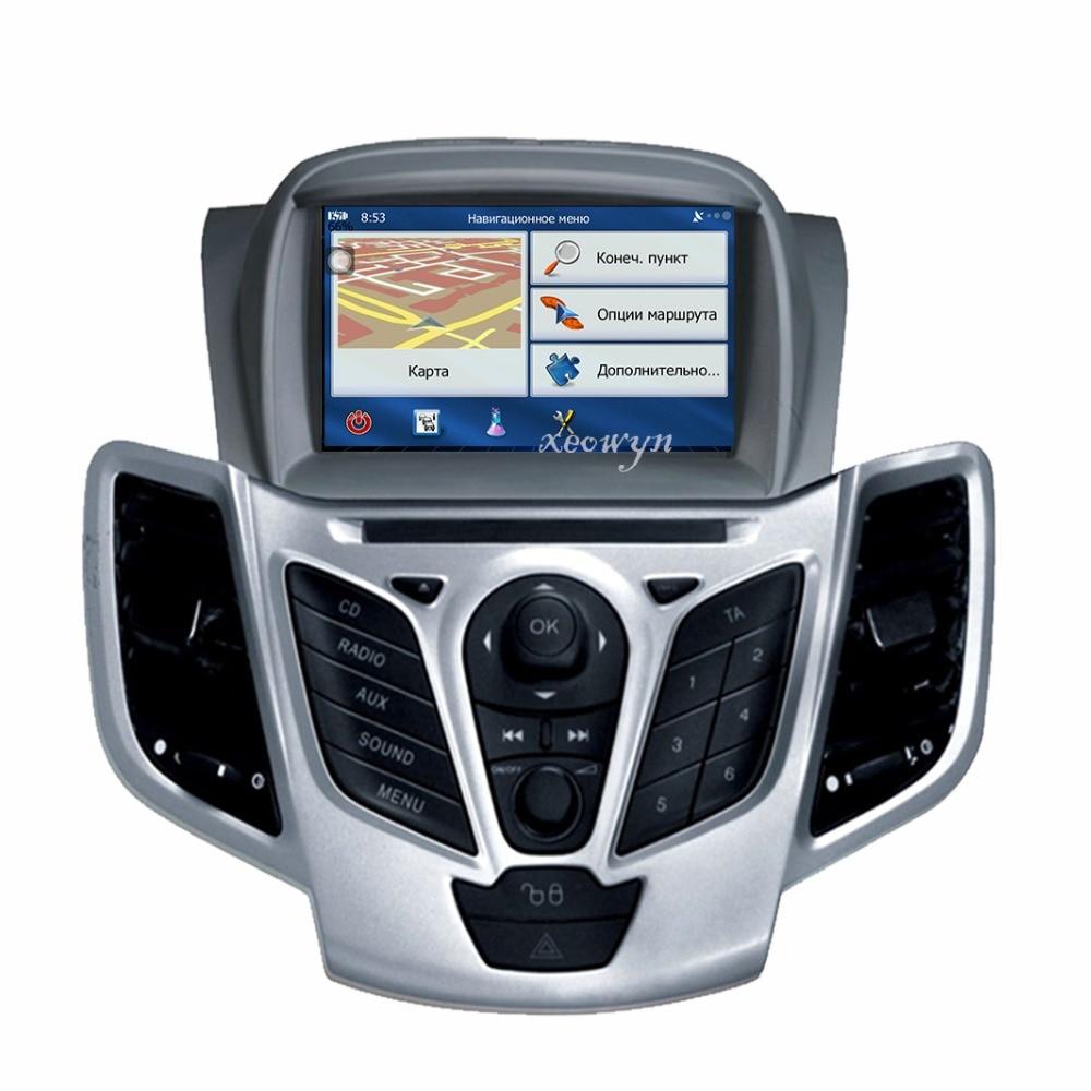 Quad Core Android 6.0 lecteur dvd De Voiture navigation gps Au tableau de bord Stéréo Radio pour Ford Fiesta 2008 2009 2010 2012 2013 2014 2015 2016
