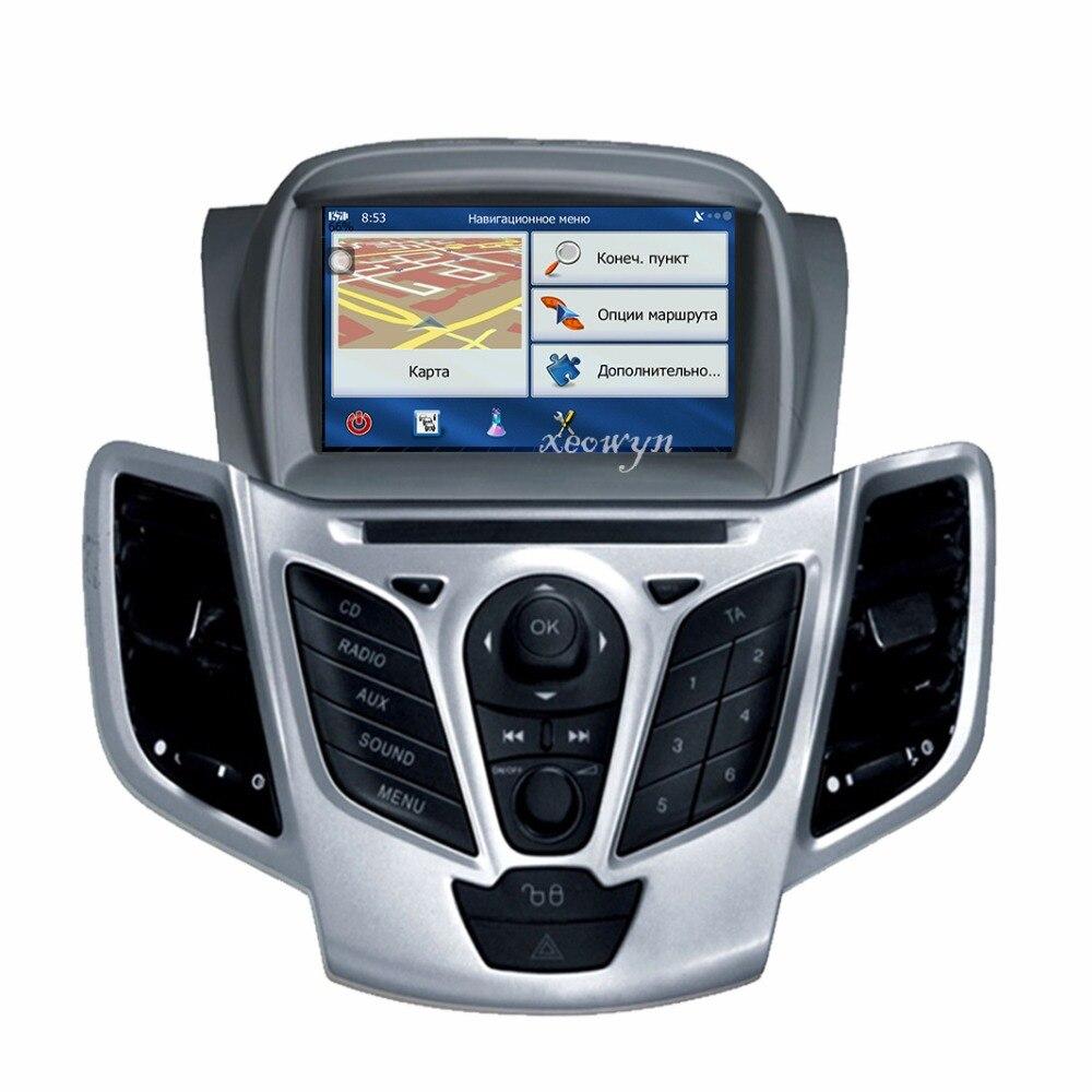 Quad Core Android 6.0 lettore DVD di Navigazione GPS In-dash Stereo Radio per Ford Fiesta 2008 2009 2010 2012 2013 2014 2015 2016