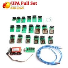 UPA 2018 Новое поступление UPA Usb программатор диагностический инструмент UPA USB ECU Программатор UPA USB V1.3 с полным адаптером в наличии сейчас