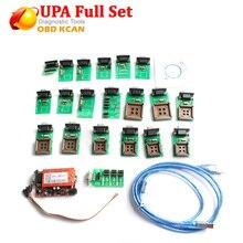 Upa 2018新到着upa usbプログラマー診断ツールUPA USB ecuプログラマupa usb V1.3フルアダプタで在庫今