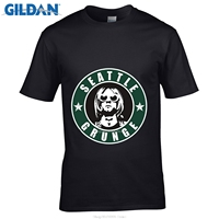 Возьмите Стиль S футболки с круглым вырезом короткая футболка Дизайн свой собственный Nirvana Сиэтл гранж Топы в состоянии Курт Кобейн футболк...