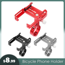 GUB Aluminum Alloy Bike Phone Stand For 3.5
