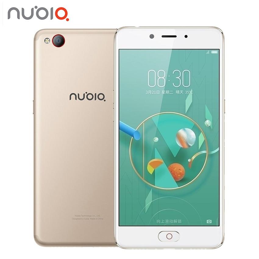 Ursprüngliche ZTE Nubia N2 4 GB RAM 64 GB ROM 5000 mAh Smartphone 4G LTE 5,5