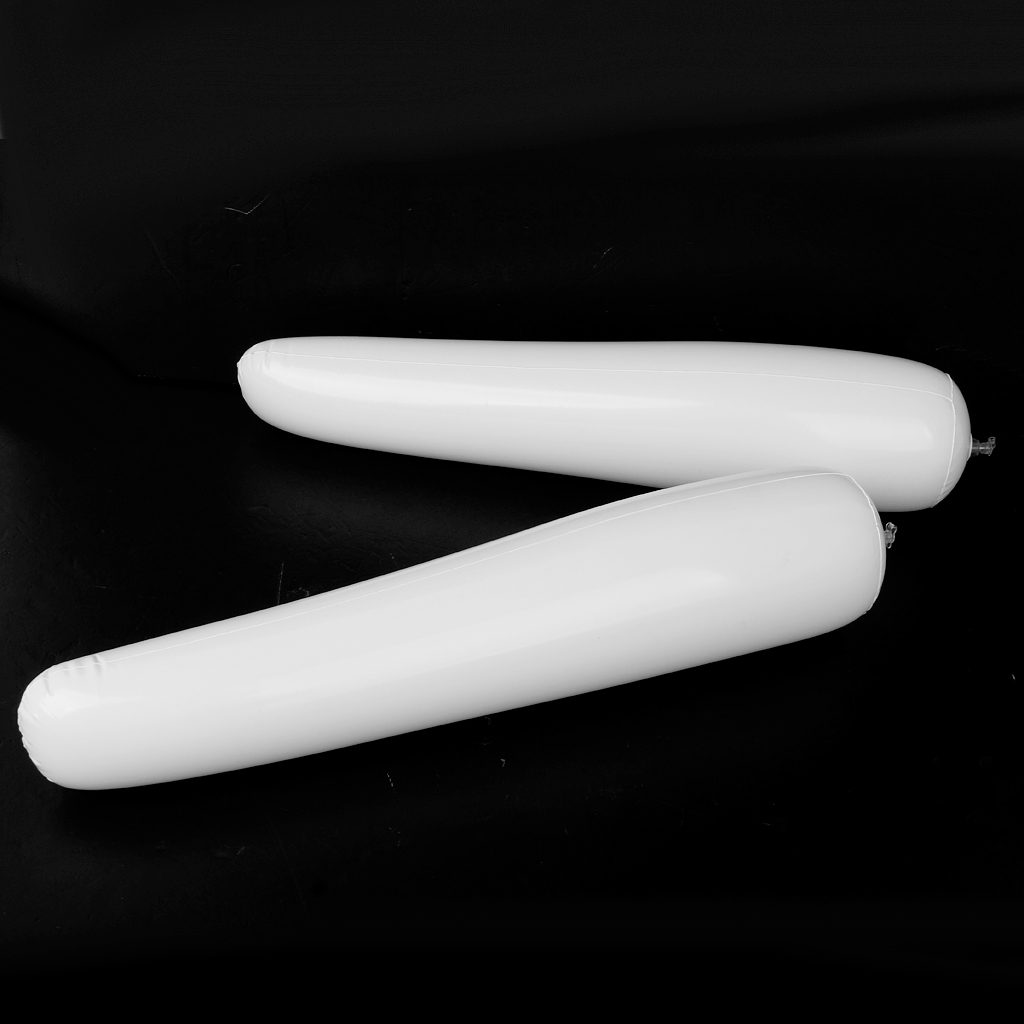 Pack Of 2 Footful Inflatable Shoes Stretcher Lightweight Inflatable Shoes Stretcher For Knee-high Boot Insert Shaper -White