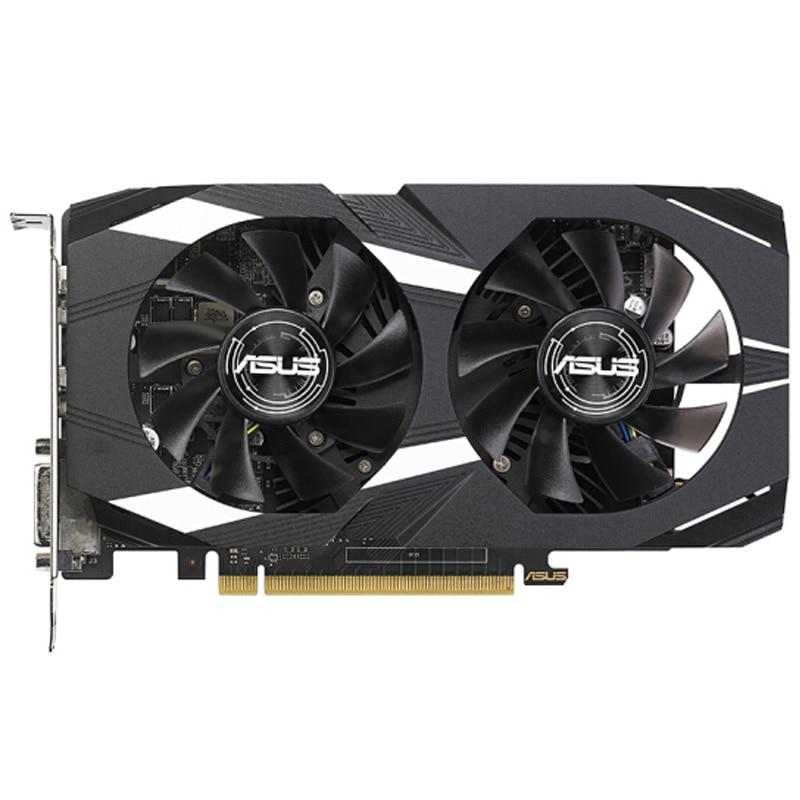 Full new,ASUS GeForce GTX 1050 GPU 2GB 128bit GDDR5 PCI-E X16 3.0 Gaming Video Graphics Card DVI+HDMI+DP new geforce 9800gt 1gb 128bit ddr3 video card hdmi pci e16x graphics card free shipping