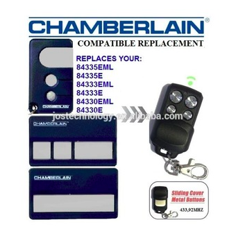 the remote for CHAMBERLAIN 84335EML,84335E,84333EML replacement garage door remote control
