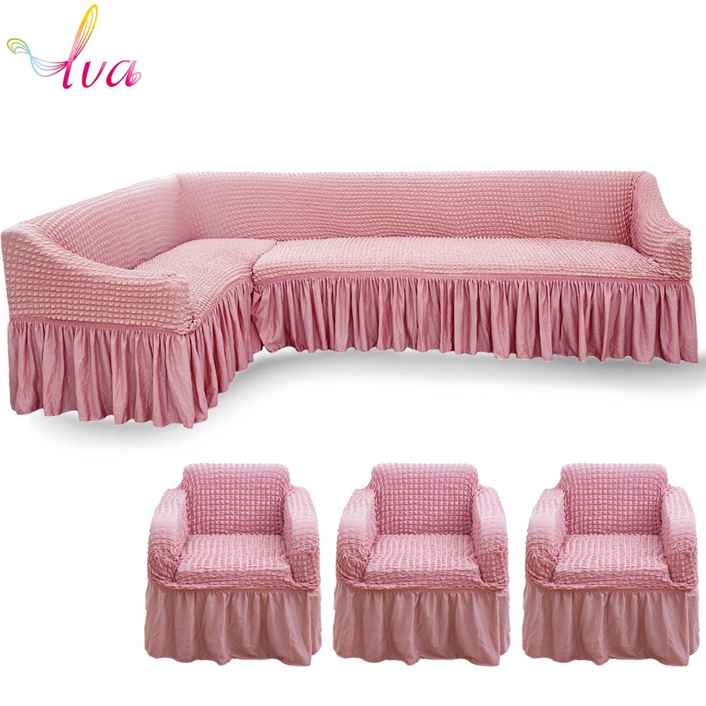 Surprising Lva Elastic Sofa Covers For L Sharp Sofa Armchair Couch Pabps2019 Chair Design Images Pabps2019Com