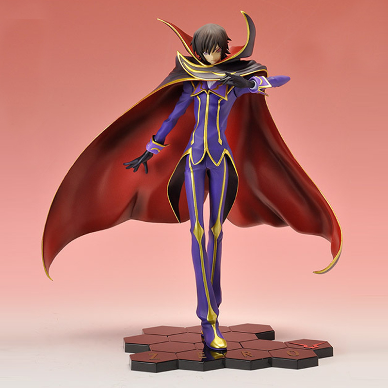 bandai tamashii nations lelouch lamperouge zero anime code. Black Bedroom Furniture Sets. Home Design Ideas