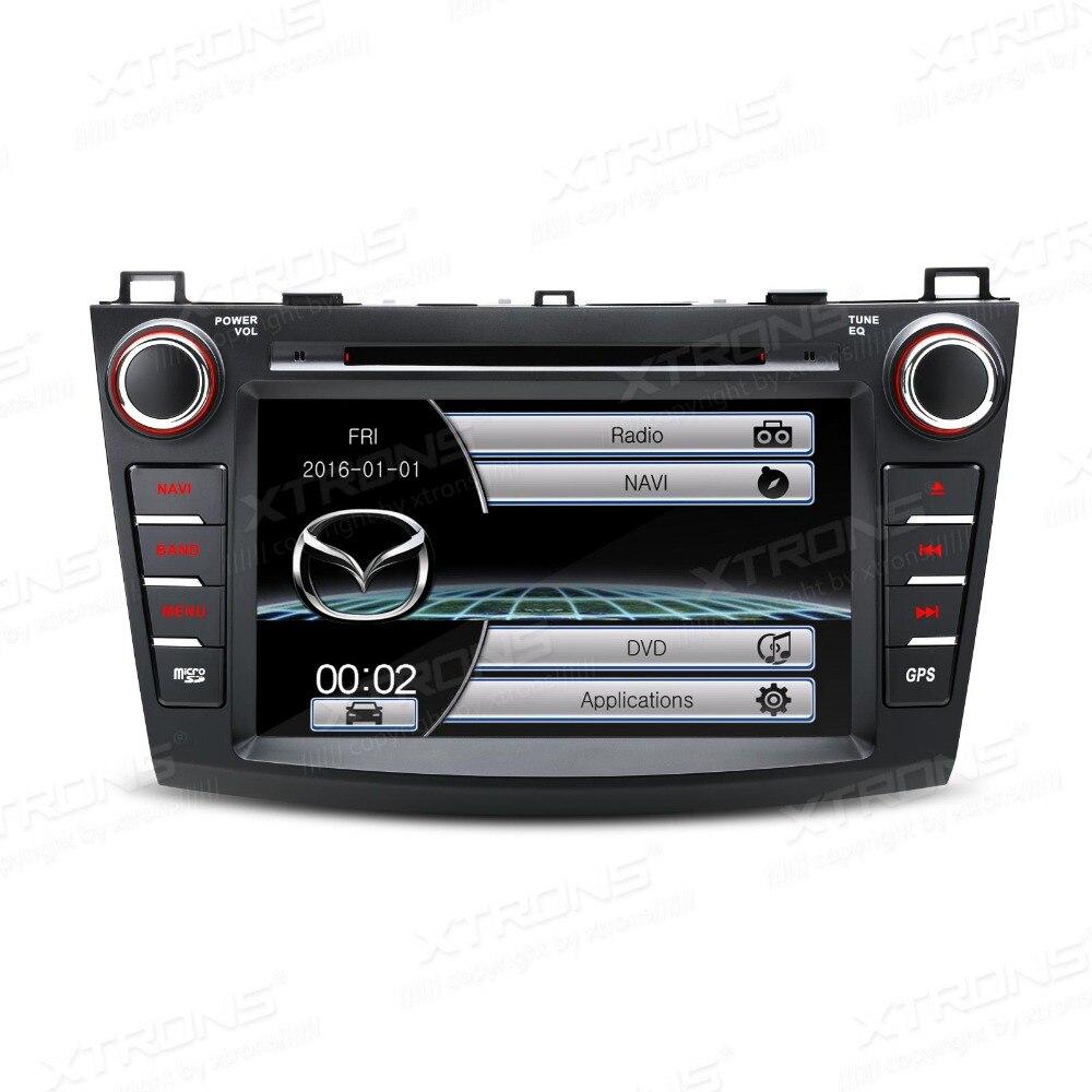 XTRONS 8 Inch Touch Screen 2 Din Car DVD Player GPS