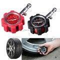 Alta precisão metal pneu de carro pneu de carro tabela de pressão de pressão tabela de pressão dos pneus medidor de pressão medidor de ar