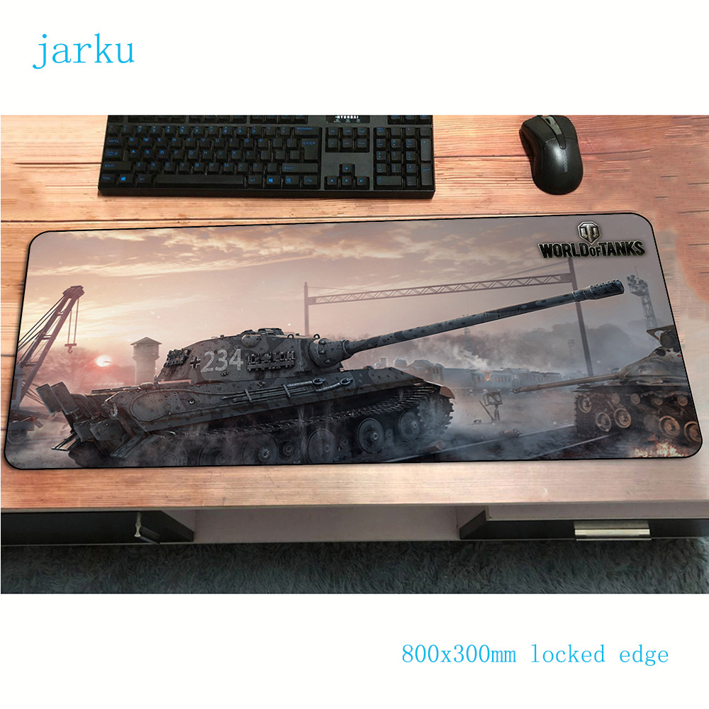 World Of Tanks Mouse Pad Gamer Best Seller 800x300x2mm Notbook Mouse Mat Gaming Mousepad Large Pad Mouse PC Desk Padmouse Mats