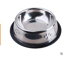 Feeder practical dog dishes eating tool cat stainless steel anti skip pet bowl 15cm.jpg 250x250