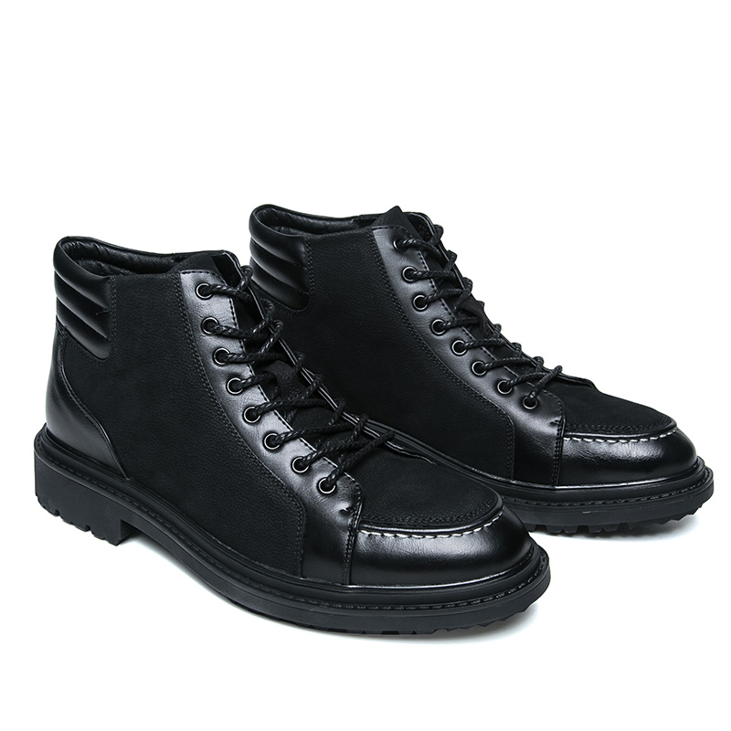 italian cool unique men motorcycle boots shoes luxury brand men's leather high top dress moccasins designer oxford shoes for men (7)