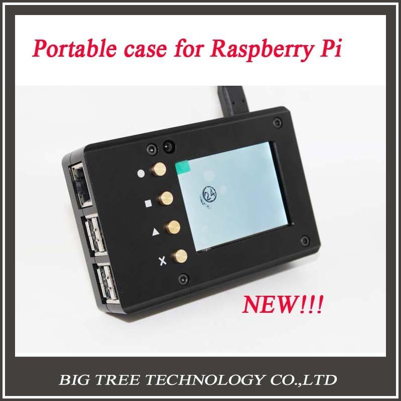 New Design font b Raspberry b font font b Pi b font 3 Metal portable case