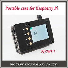 Cheapest prices New Design!! Raspberry Pi 3 Metal portable case diy kit–Metal case + Screen + Screw– Aluminum Alloy and Ultrathin Design!!!