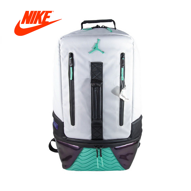 Original New Arrival Authentic Nike Air Jordan 11 BackPack AJ11 School Bag Sport Outdoor Sports Bags