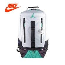 Оригинальный Новое поступление Аутентичные Nike Air Jordan 11 рюкзак AJ11 школьная сумка Спорт Открытый спортивные сумки хорошее качество 9A1971-W51