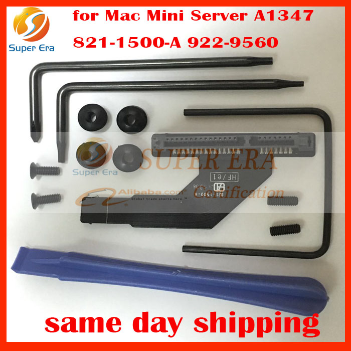 Lower Bay Hard Drive 2nd SSD Flex Cable Kit 821-1500-A for Mac Mini A1347 Server HDD flex cable perfect testing for huawei bh620 e6000 2 5 inch blade server hard drive hard drive rack wah tournament shelf bracket