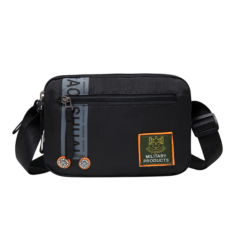 In Design; Creative Genuine Leather Messenger Bag Men Waist Bags Retro Cool Outdoor Phone Pouch Travel Leg Bag Zipper Vintage Male Waist Pack Novel