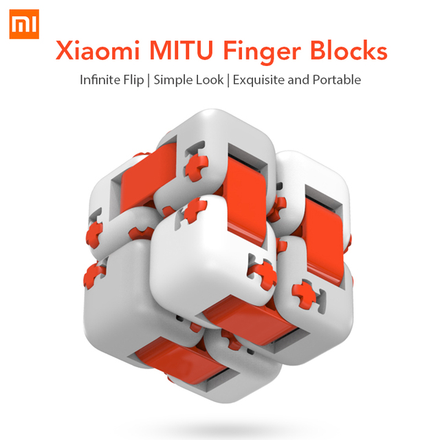 Original Xiaomi Mitu Cube Spinner Finger Bricks Portable Smart Finger Toys Intelligence Toys for Xiaomi Smart Home Gift for Kid