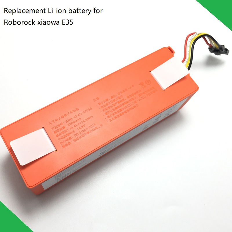 New Original Replacement Battery For XIAOMI ROBOROCK Vacuum Cleaner Xiaowa E35 Accessory Parts