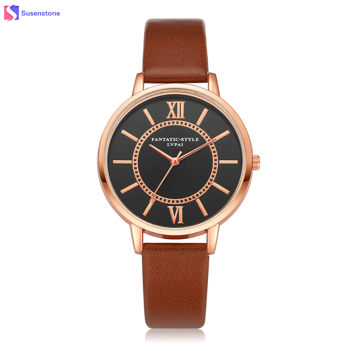 Luxury Watch Women Quartz Wristwatch Clock Leather Band Roman Numerals Simple Design Ladies Dress Gift Watches relogio feminino cheap fashion glitter dial clock watch women casual pu leather analog quartz watch roman numerals dress watches wristwatch