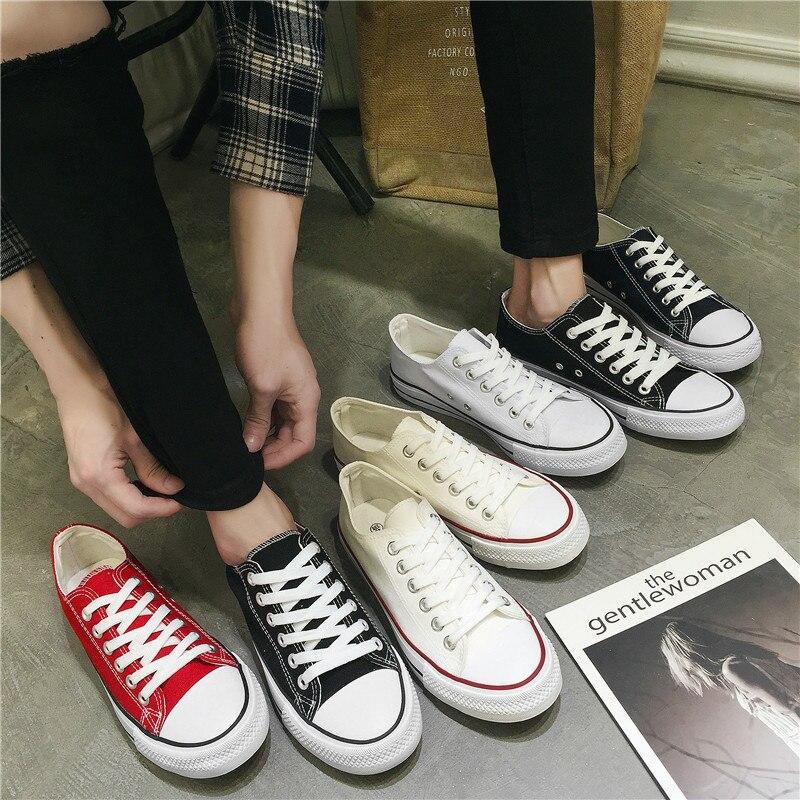 Sapatas de lona dos homens clássicos de alta qualidade 2018 outono nova alta-top sapatos baixos dos homens fábrica de calçados vulcanizados sapatos casuais direta