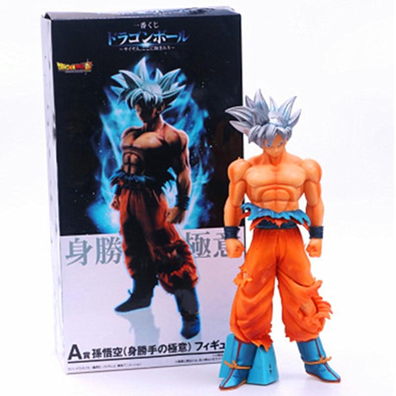 26 CM Dragon Ball Z Ultra Instinct Son Goku jouet PVC Anime Figure Super Saiyan Migatte pas Gokui modèle figurines poupée enfants cadeau Z82