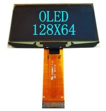 2.42 2.4 pouce bleu blanc vert jaune 128x64 OLED module daffichage 8bit 6800/8080 4 SPI série I2C IIC Interface 24PIN ssd1309