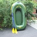 Nuevos 2 personas PVC Grueso Adwenture canoa Kayak barco de la deriva al aire libre barco de pesca inflable 188*114 cm