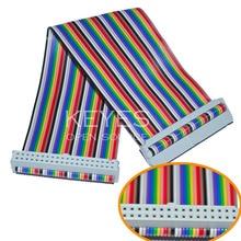 Raspberry Pi B + raspberry pi GPIO cable rainbow colored cable 40P essential DIY