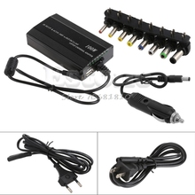 DC In Car Charger Notebook Universal AC Adapter Power Supply For Laptop 100W 5A Z09 Drop ship