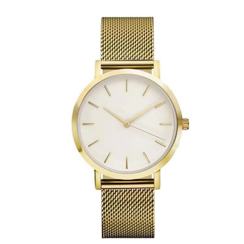 Fashion Watch for Women Stainless Steel Yellow Gold